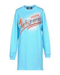 Vestito corto di Jeremy Scott in Blue