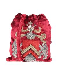 Alberta Ferretti Red Cross-body Bag