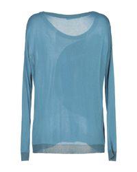 Les Copains Blue Pullover