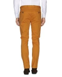 Scotch & Soda - Brown Casual Pants for Men - Lyst