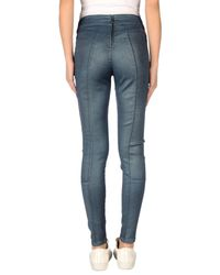 Guess - Blue Casual Pants - Lyst
