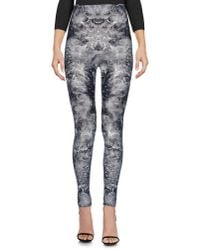 Alexander McQueen Gray Leggings