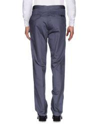 Lanvin Gray Casual Pants for men