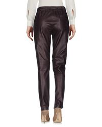Leon & Harper - Purple Casual Pants - Lyst