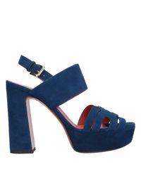 Santoni Blue Sandals