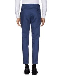 Mp Massimo Piombo Blue Casual Pants for men