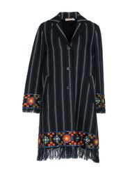 Tory Burch - Blue Coat - Lyst