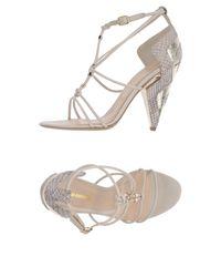 Nicholas Kirkwood White Sandals