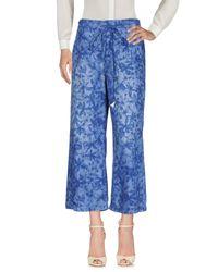Pantalon Patrizia Pepe en coloris Blue