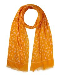 Écharpe Tommy Hilfiger pour homme en coloris Orange