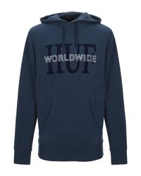 Huf Sweatshirt in Blue für Herren
