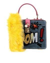 Sac à main Dolce & Gabbana en coloris Multicolor