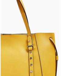 TOPSHOP Yellow Handtaschen
