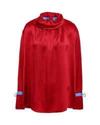 Blouse Roksanda en coloris Red
