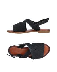 Inuovo Gray Sandals