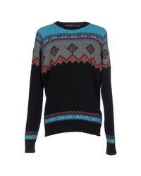 Department 5 - Blue Sweater for Men - Lyst