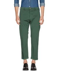 TRUE NYC Green Casual Pants for men
