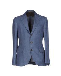 Brunello Cucinelli Blue Blazer for men