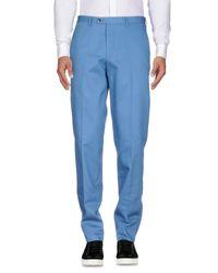 Pantalone di Mp Massimo Piombo in Blue da Uomo
