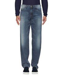 Paul & Shark Blue Denim Pants for men