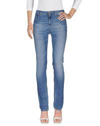 Siviglia Blue Denim Pants