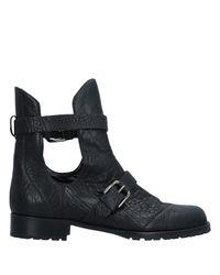 Philosophy di Alberta Ferretti Black Ankle Boots