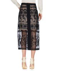 N°21 Black 3/4 Length Skirt