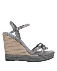 Sandales Apepazza en coloris Gray