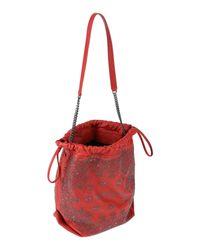 Sac porté épaule Saint Laurent en coloris Red