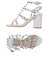 The Seller White Sandals