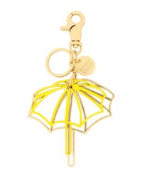 See By Chloé Yellow Key Ring