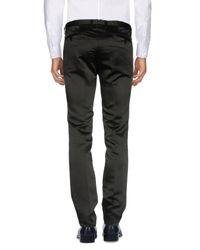 Christian Pellizzari Black Casual Pants for men