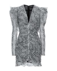 Isabel Marant Gray Short Dress
