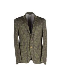 Brian Dales Green Blazer for men