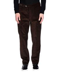 Pantalone di Zanella in Multicolor da Uomo