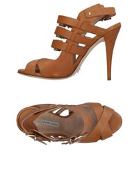 Gianni Marra Brown Sandals