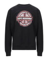 Love Moschino Sweatshirt in Black für Herren