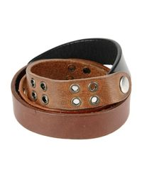 Maison Margiela - Brown Bracelet for Men - Lyst
