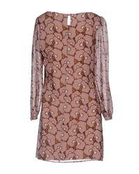 Twenty Easy By Kaos Multicolor Short Dress
