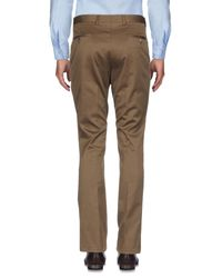 Valentino Brown Casual Trouser for men