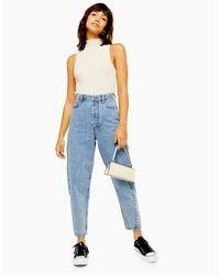Pantalones vaqueros TOPSHOP de color Blue