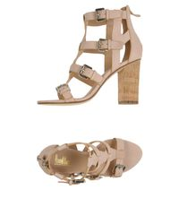 Belle By Sigerson Morrison Pink Sandals