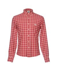 Franklin & Marshall Red Shirt for men