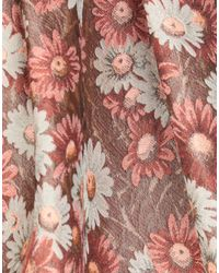 Falda a media pierna Alberto Biani de color Pink