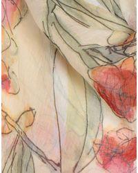 Foulard Patrizia Pepe en coloris Natural