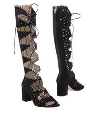 Elie Saab Black Boots