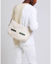 Bolso con bandolera Gucci de hombre de color White