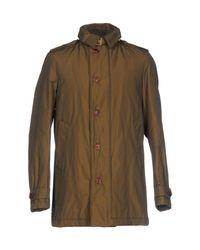 Geospirit - Green Down Jacket for Men - Lyst