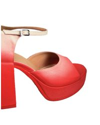 MM6 by Maison Martin Margiela Red Sandale