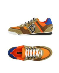 DSquared² - Orange Low-tops & Sneakers for Men - Lyst
